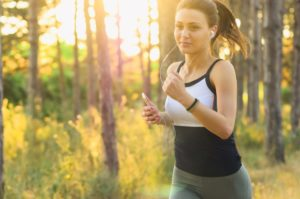 Running, one way to alleviate anxiety